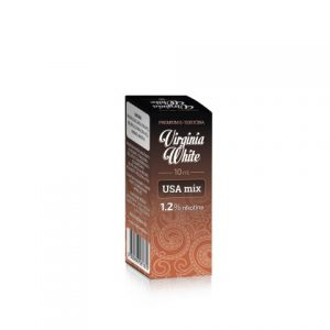 E-tekućina VIRGINIA WHITE USA Mix, 12mg/10ml