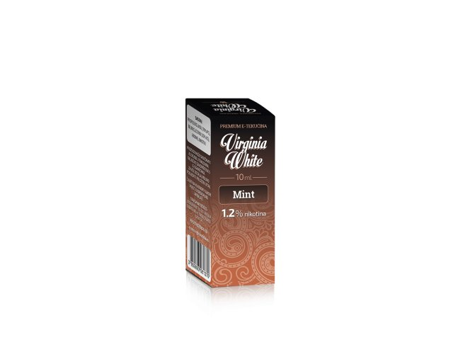 E-tekućina VIRGINIA WHITE Mint, 12mg/10ml