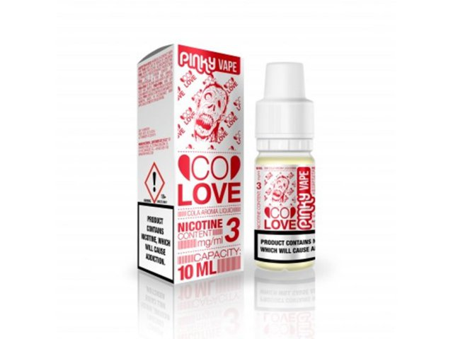 E-tekućina PINKY VAPE Co Love, 0mg/10ml