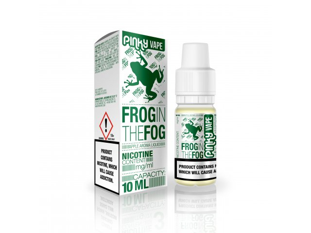 E-tekućina PINKY VAPE Frog In The Fog, 0mg/10ml
