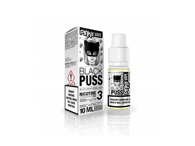 E-tekućina PINKY VAPE Black Puss, 3mg/10ml