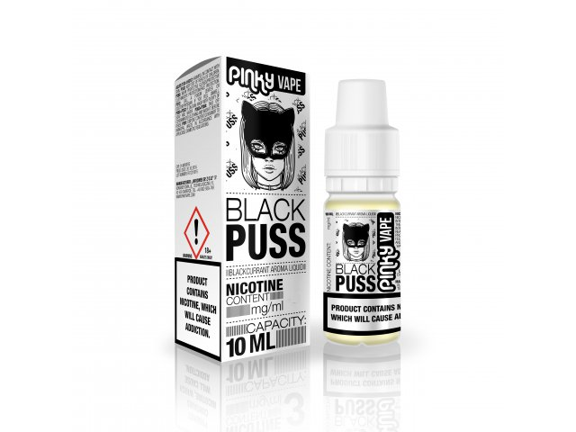 E-tekućina PINKY VAPE Black Puss, 12mg/10ml