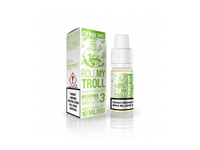 E-tekućina PINKY VAPE Roll my Troll, 3mg/10ml