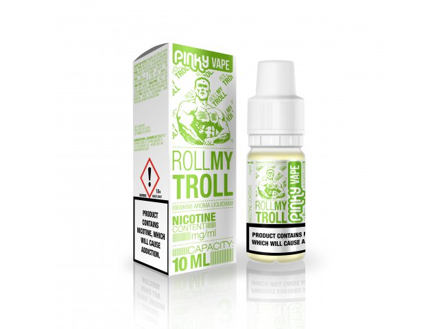 E-tekućina PINKY VAPE Roll my Troll, 6mg/10ml