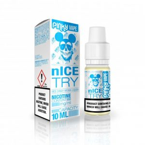 E-tekućina PINKY VAPE Nice Try, 0mg/10ml