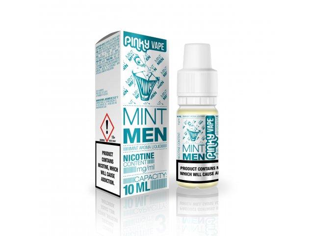 E-tekućina PINKY VAPE Mint Men, 0mg/10ml
