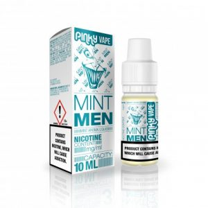 E-tekućina PINKY VAPE Mint Men, 0mg/10ml