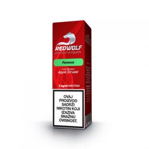 E-tekućina RED WOLF Famous, 3mg/10ml
