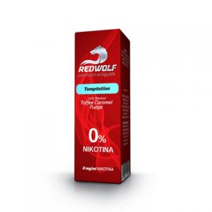 E-tekućina RED WOLF Temptation, 0mg/10ml
