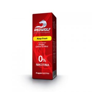 E-tekućina RED WOLF Keep Fresh, 0mg/10ml