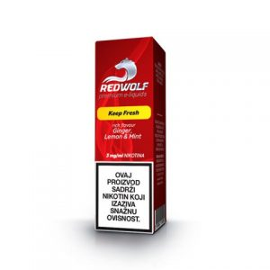 E-tekućina RED WOLF Keep Fresh, 3mg/10ml
