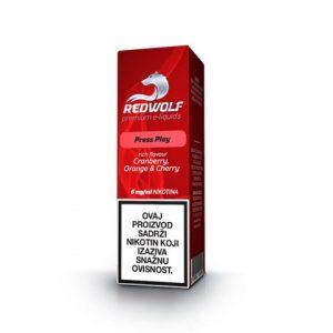 E-tekućina RED WOLF Press Play, 6mg/10ml