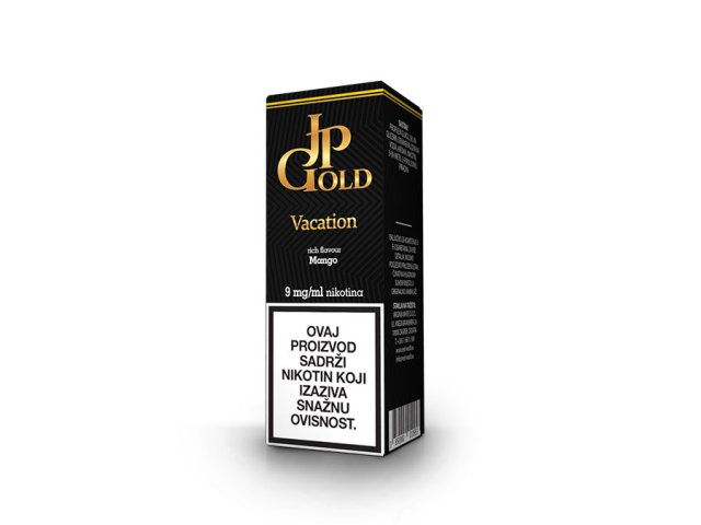 E-tekućina JP GOLD Vacation, 9mg/10ml