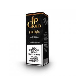 E-tekućina JP GOLD Just Right, 9mg/10ml
