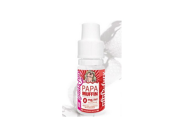 E-tekućina PINK FURY Papa Muffin, 12mg/10ml