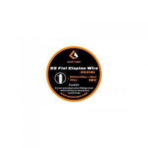 Žica GEEKVAPE Flat Clapton/SS316L (0.4mm*1.0mm+0.2mm)