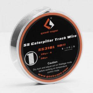 Žica GEEKVAPE Caterpillar Track/SS316L (0.3mm*4+0.25mm)