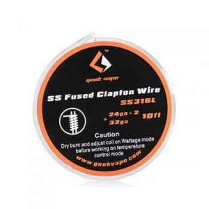 Žica GEEKVAPE Fused Clapton/SS316L 0.5mm*2(=)+0.2mm