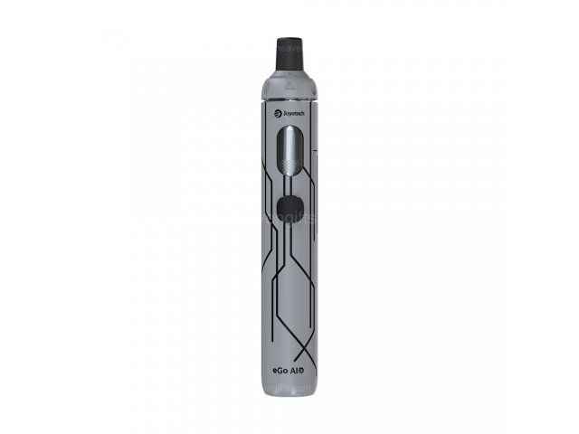 E-cigareta JOYETECH eGo AIO, silver 10th anniversary edition