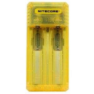 Punjač baterija NITECORE Q2, yellow