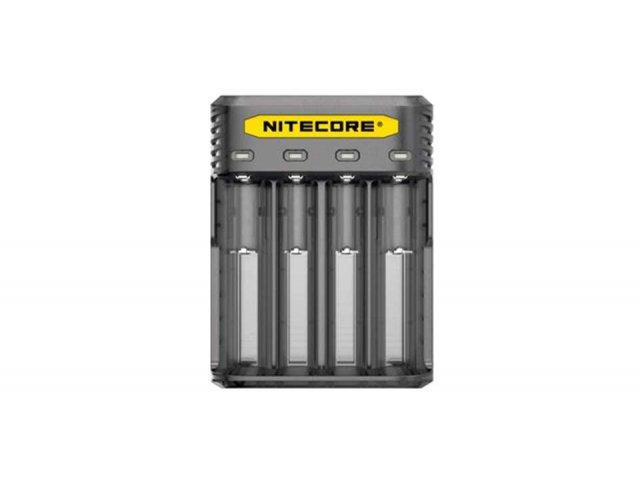 Punjač baterija NITECORE Q4, black