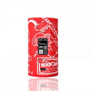 E-cigareta VAPOR STORM Puma mod, vape on white