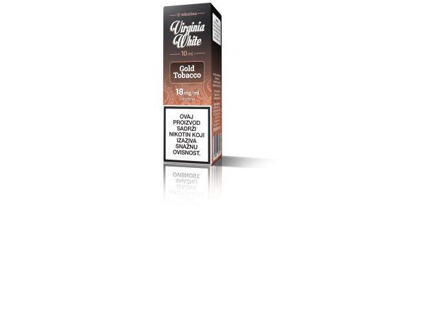 E-tekućina VIRGINIA WHITE Gold Tobacco 18mg/10ml