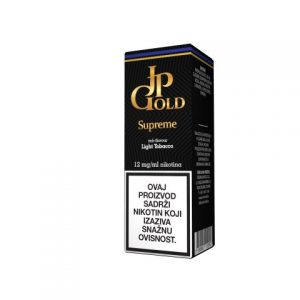 E-tekućina JP GOLD Supreme, 12mg/10ml