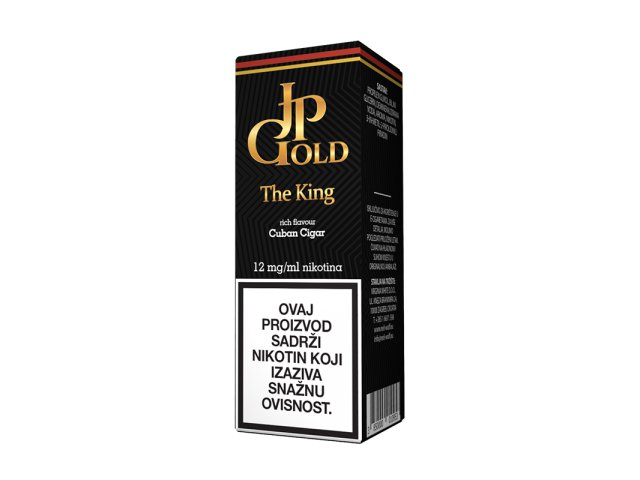 E-tekućina JP GOLD The King, 12mg/10ml