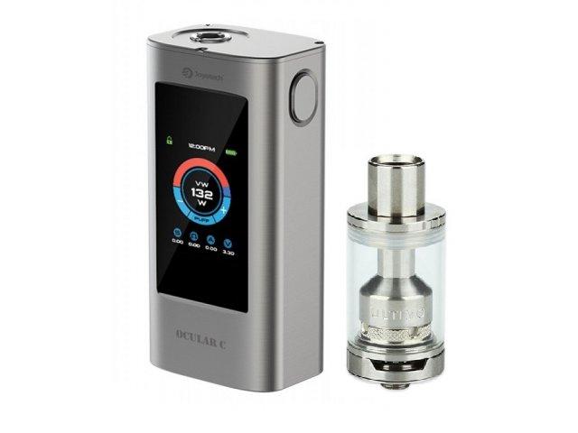 E-cigareta JOYETECH OCULAR C, silver+Tank JOYETECH Ultimo,silver
