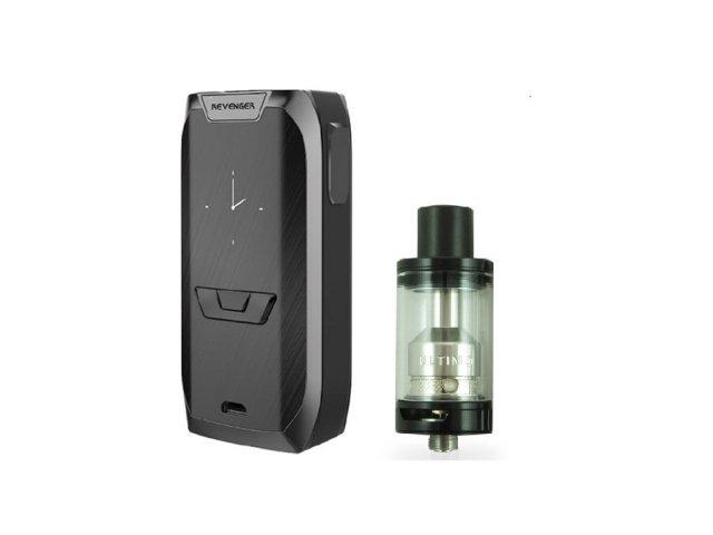 E-cigareta VAPORESSO Revenger mod, black+Tank JOYETECH Ultimo,black
