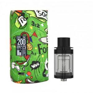 E-cigareta VAPOR STORM Puma mod,football+Tank JOYETECH Unimax 22,black+BF adapter