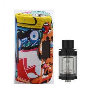 E-cigareta VAPOR STORM Puma mod,blue/yellow+Tank JOYETECH Unimax 22,black+BF adapter