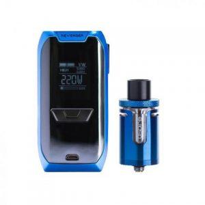 E-cigareta VAPORESSO Revenger mod,blue+Tank ASPIRE Cleito EXO,blue
