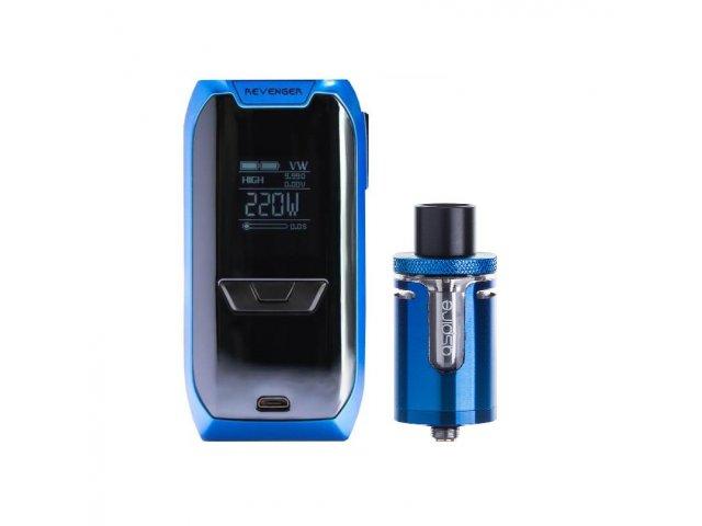 E-cigareta VAPORESSO Revenger mod, blue+Tank ASPIRE Cleito EXO, blue