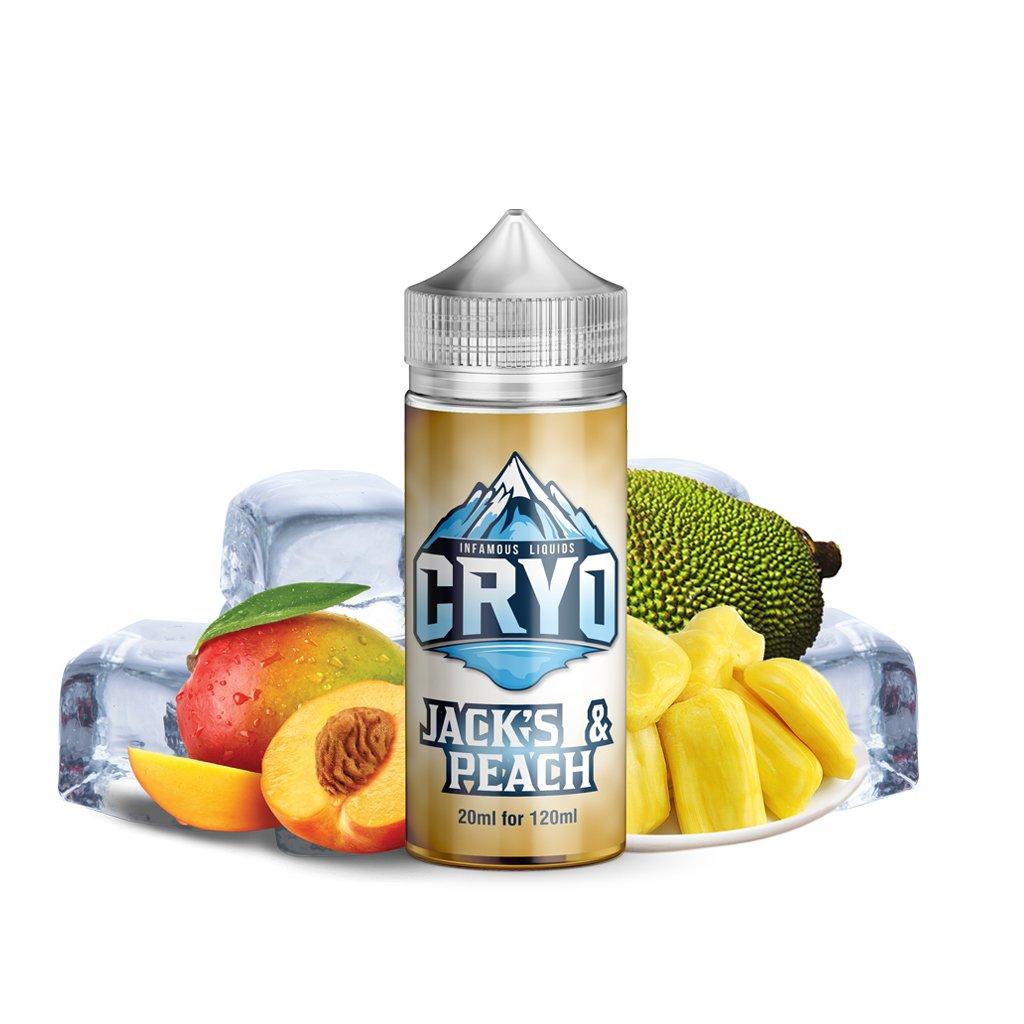 E-tekućina Infamous CRYO jack's peach 20/120